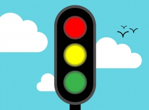 Using the traffic lights to measure the customers mood in customer service